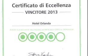 Hotel Orlanda TripAdvisor 2013